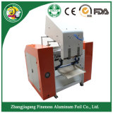 Folha de alumínio semiautomática Rewinder e máquina de estaca