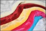 Tessuto falso della pelliccia 100% di Polyster/peluche del boa