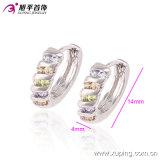 Recentemente rame ambientale 90231 dell'orecchino del cerchio delle donne eleganti del Rhodium di Xuping di modo