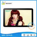 19 Zoll LCD Bildschirmanzeige-Spieler mit USB-Ableiter-Karte (MW-192AVS) bekanntmachend