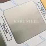 304 feuille du délié Kbh004 de couleur d'argent d'acier inoxydable