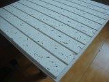 Panel de fibras mineral, azulejo acústico del techo