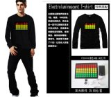 EL 평형 장치 셔츠 EL 번쩍이는 셔츠 EL EL 번쩍이는 셔츠