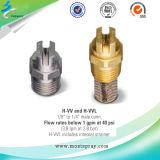 Metal que refresca inyectores de aerosol planos estándar del ventilador