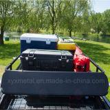 Cremalheira universal do aço do preto da cesta da carga do telhado da parte superior do carro