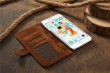 iPhone 7のためのレトロの蜂のネストの革携帯電話の箱