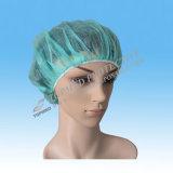 간호원 모자 불룩한 간호원 모자는 헤어네트를 착색했다