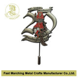 Pin Badge di Lapel del metallo con 3D & Long Needle