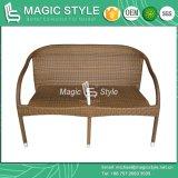 Insieme del sofà del rattan per il sofà accatastabile del giardino impostato (stile magico)