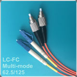 Cable LC-FC PC con varios modos de fibra óptica Patch