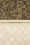 Популярная белая мраморный мозаика