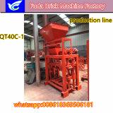 Kleine Maschine des Block-Qt40c-1 mit Qualität von China