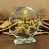 Concessões de cristal óticas redondas do ofício K9 da venda por atacado 2016 do troféu do cristal