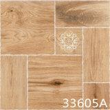 陶磁器の寄木細工の床のタンの木製の床タイル(300X300mm)