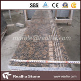 좋은 가격 자연적인 돌 사용되는 실내 옥외를 위한 Polished 층계 보행