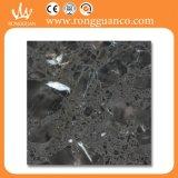 Pietra artificiale nera delle mattonelle di pavimento del marmo di colore (RB119)