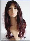 女性の方法漫画の毛の祝祭の合成物質のかつら