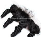""""""" L'onde de face 13*5 de corps du lacet 22 de base en soie libèrent des Hairpieces de lacet de partie"""
