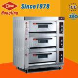 Kundenspezifischer Handelsbäckerei-Geräten-Gas-Ofen für Verkauf (HLY-306E)