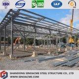 Longue construction de bâti en acier d'envergure avec le modèle professionnel
