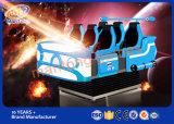 Машина видеоигры 360 кино мест 9d Vr шлема 6 степени