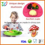 Couvre-tapis de place de nourriture de Tableau de bébé en caoutchouc de silicones