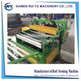 Machine de redressage et de découpage de tôle d'acier en métal