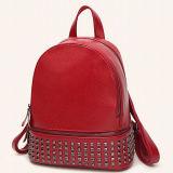 새로운 형식은 중국 디자이너 Sy8546에게서 소녀 틴에이저를 위한 PU 숙녀 학교 부대를 밖에 제거한다 Backpack Leisure