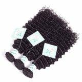 8A卸し売り倍は波状の上のRemyの人間の毛髪の拡張を浸す