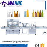 Automati lineare Flüssigkeit-füllende und mit einer Kappe bedeckende Maschine