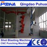 Machine de grenaillage de cylindre de gaz