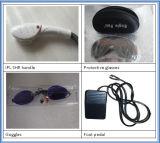 Depilación Portable y eliminación arañas vasculares Opt IPL Shr