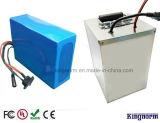 Batterij van het Polymeer LiFePO4 van het Lithium van het Geval 12V50ah van het roestvrij staal de Ionen