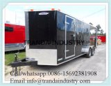 De de Kokende Kar van het voedsel/Auto van de Aanhangwagen van de Keuken van de Mobiele Restauratiewagen/van het Snelle Voedsel
