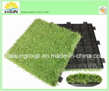 정원 DIY (ESTA4SA3540)를 위한 40*40cm Artificial Grass Tile