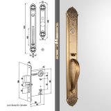 Het antieke Slot van Handleset van de Ingang van de Cilinder van de Stijl van de Legering van het Zink van de Cilinder van het Brons Europese Buiten