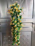 Fleurs artificielles de la fleur en soie Gu-Zj00015