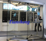Trappes de pliage en verre commerciales de Frameless