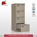Gabinete de arquivo de 4 gavetas de embalagem plana com divisor, arquivo de tamanho legal e letra disponível