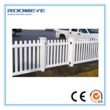 Rete fissa di picchetto bianca del PVC di Roomeye