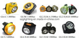 Mineurs Gl2.5lm LED charbon Cap Lamp , LED Phare