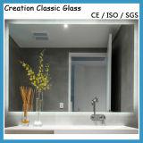 装飾的なミラーのための3-6mmの単一の上塗を施してあるアルミニウムミラーのガラスシート