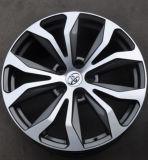 Borde de aluminio de la rueda de la aleación del coche de la reproducción para Toyota
