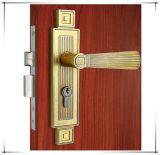 황금 문에 박은 자물쇠 고정되는 아연 합금 등록 문 장붓 구멍 자물쇠