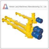 Transportador del espiral de la transmisión del polvo, transportador de tornillo