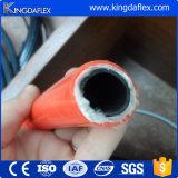 Boyau thermoplastique tressé de nylon hydraulique résistant de pétrole