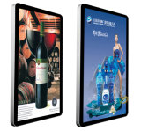 Vídeo del panel de visualización del LCD de 50 pulgadas que hace publicidad del jugador, Digital