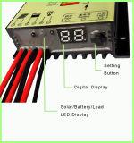 Controlador solar solar impermeável da carga da função de escurecimento PWM das luzes do diodo emissor de luz