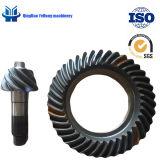 Ingranaggi conici personalizzati di spirale di pezzo fucinato dell'attrezzo dell'asse di azionamento della parte posteriore del camion del metallo di precisione BS6021 8/39