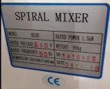 Machine spiralée industrielle de mélangeur de la pâte